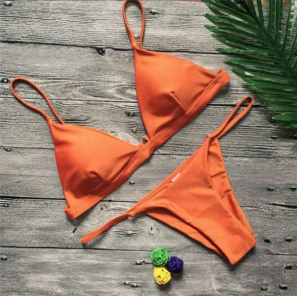 Turuncu bikini