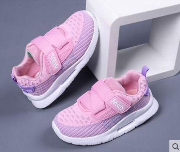 Printemps et été enfants mesh mesh respirant nouvelles chaussures de sport garçons et filles en gros et au détail 424-3