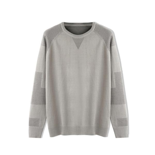 2019 Winter New Arrive Mens Sweater Woollen Pullover Woolly Hoodies Knit Sweatshirt Fashion Street Blouse Long Sleeve Warm Clothes B101140L