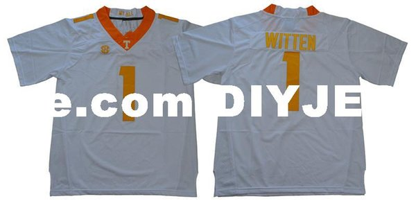 competitive price 3414d cb8c0 2019 Mens Jason Witten NCAA Tennessee Volunteers Jersey Stitched Jason  Witten Legends Retirement Patch Jersey S 5XL From Diyjerseys, $29.46 | ...