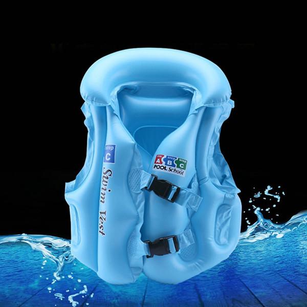 Unisex Bambini Galleggiante Nuoto Sicurezza Galleggiante Gonfiabile Giubbotto di salvataggio Apprendimento-Giubbotto salvagente Giubbotto salvagente Giubbotto per bambini