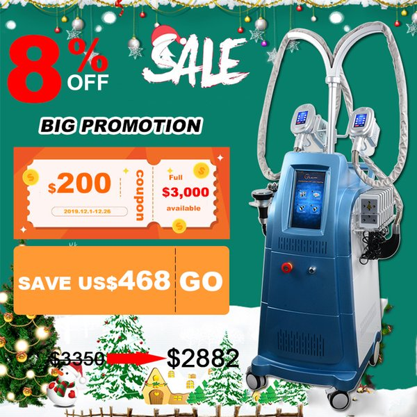 latest freezing fat cell slimming machine ultrasound machines therapy cellulite removal Cryolipolysis Vacuum slimming beauty equipment