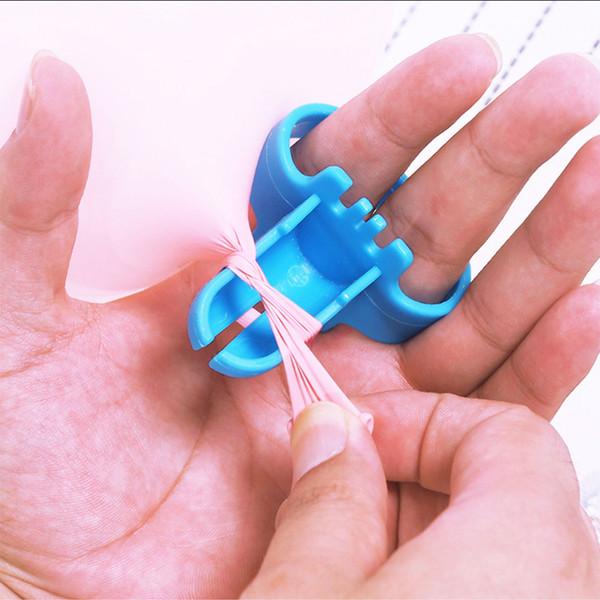 Nuovo di alta qualità rapida Balloon legatore Latex Balloon Fastener facilmente Knot strumento festa di nozze Accessori Balloon DropShip