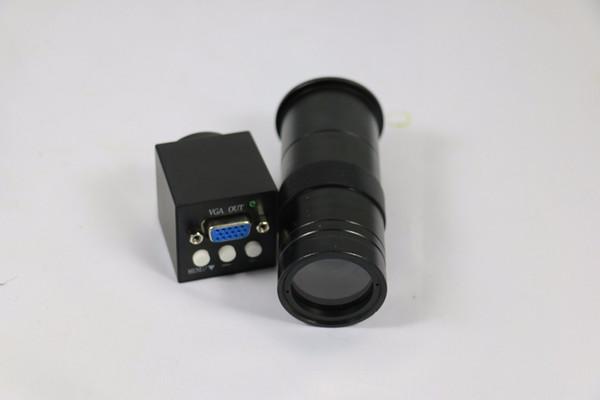 Freeshipping Yeni 2MP 1080 P Etkili Piksel VGA çıkışı ile Sanayi Mikroskop Kamera 8-130X C-montaj Lens için LAB PCB telefon onarım