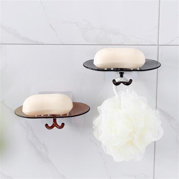 Flexible Bad Seifenschale Aufbewahrungshalter Rack Seifenkiste Platte Tray Drain Kreative Bad Seifenablass Rack Einfache Fall