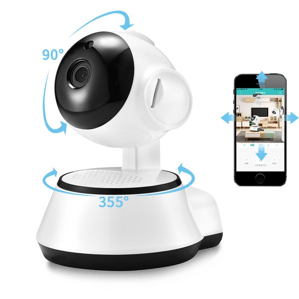 Home Security IP Camera Wireless Smart WiFi Camera WI-FI Audio Record Surveillance Baby Monitor HD Mini CCTV Camera V380