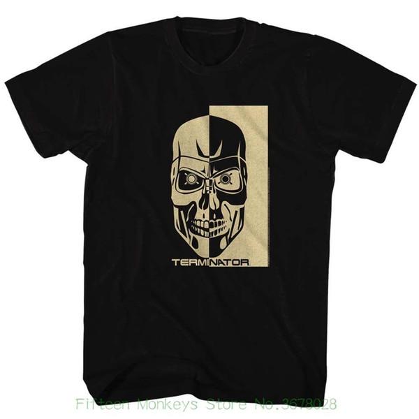 Ärmel Jungen Baumwolle Herren T-Shirt Terminator Bw Schwarz Herren Kurzarm T-Shirt für Männer