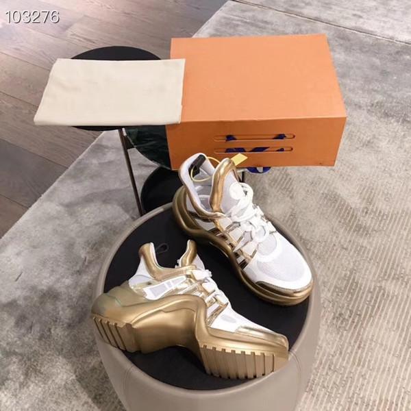 2019Counter последней спортивной обуви, мужской и женской обуви с толстой резиновой подошвой, для женщин размер 35-40 мужской размер 40-44Lovers обувь