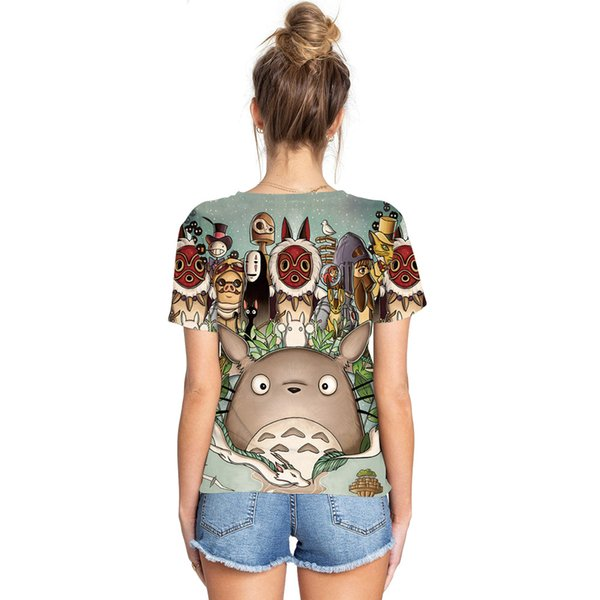 Dunhuang Fashion Dragon Cat Series Digital Printed Couple T-shirt Sports Hundred Short-sleeved Round-collar Bottom Shirt Foreign Trade