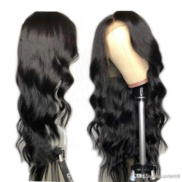 Perruque Lady longs cheveux bouclés d'Afrique noire Mode Full Body fil de la température WaveHigh perruques pour les femmes pré Plucked ujibg Brésil