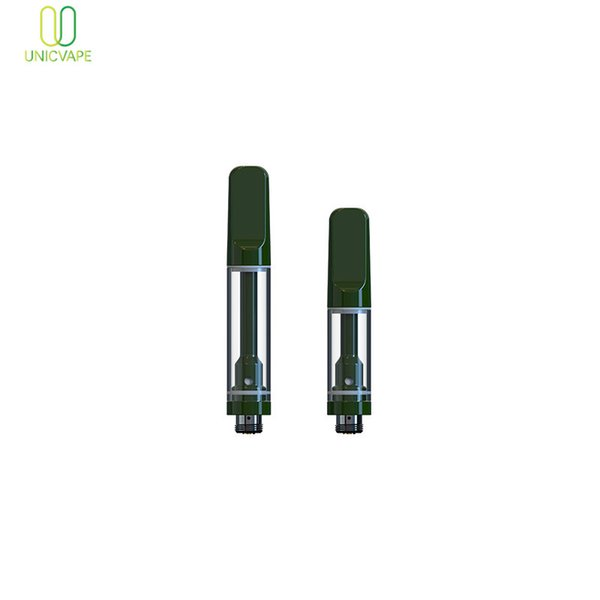 Modische No Leak Vape Cartridge Best-Preis-510 Thema OEM Custom Design 0.5 / 1.0 ml No Leak-Patrone für Vape Pen