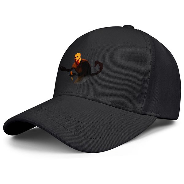 Drake Scorpio schwarz Herren Damen Angelhut verstellbare Baseballhüte maßgeschneiderte Hipster Polo Caps