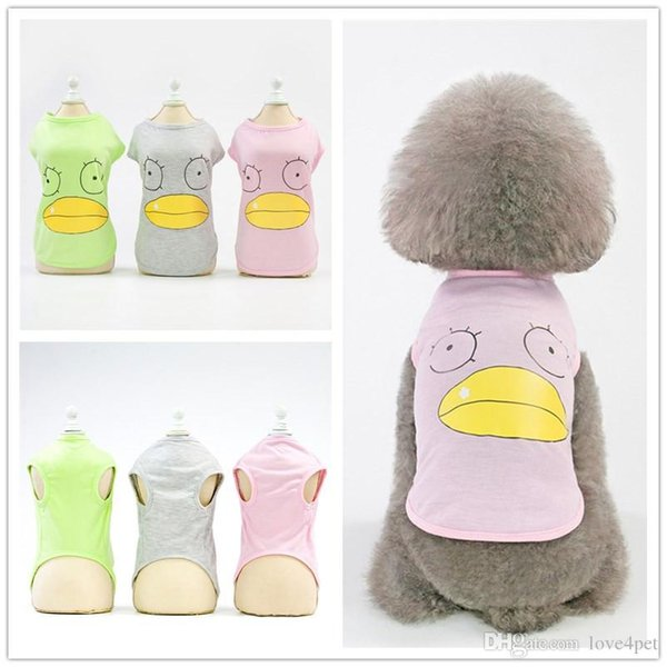 F129 pet dog summer vest cool thin summer T-shirt puppy vest small pets summer clothes new style