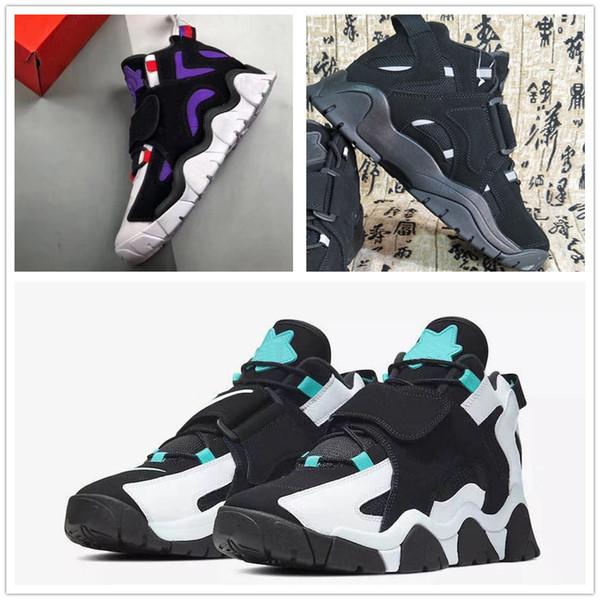Acheter Scottie Pippen Nouvelles Chaussures De Basket Ball De Style Top Nouveau Système Couleur Qualité De Batman Baskets Sport, Buffle Noir Comftable