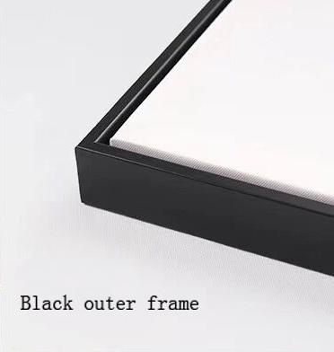 Siyah dış çerçeve