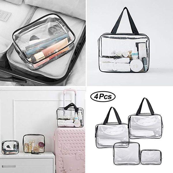 Makeup Bag Cosmetic Case Storage Beautiful Cosmetic Bag For Make Up Portable Folding Toiletry Wash Ladies Organiser K520
