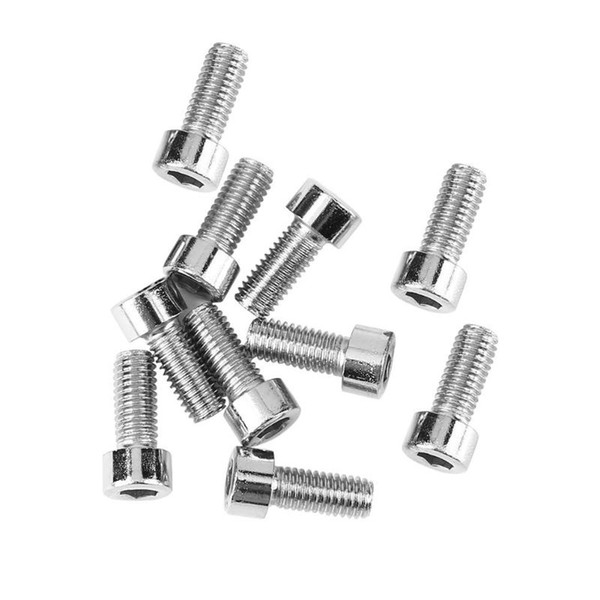 10pcs/bag Bike Water Bottle Cage Bolts Tapping Screw For Bicycle Cycling Bottle Holder Bracket Rack Bicicleta accessories #342601