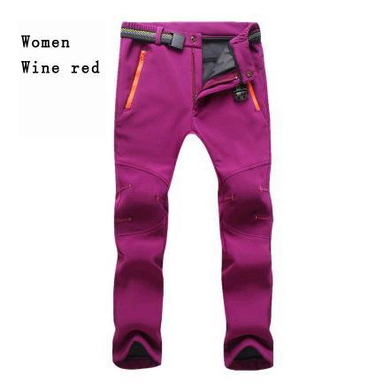 women purple red