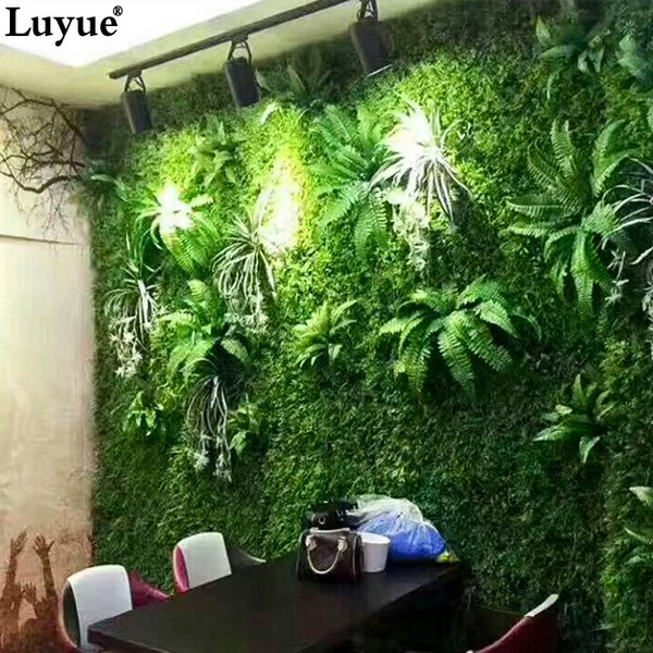 Artificial s Artificial Plant Wall Plant Accessories Green s Grass Subtropical plant table decoration wall hotel accessories