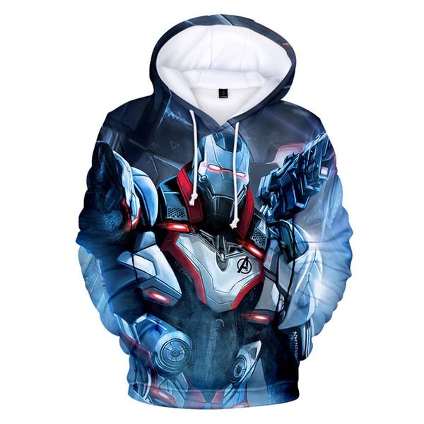 Designer luxe 3D Avengers 4 Endgame À Capuche Sweat Hommes Femmes Casual Pull Streetwear Harajuku Mâle À Capuche Hommes Hoodies