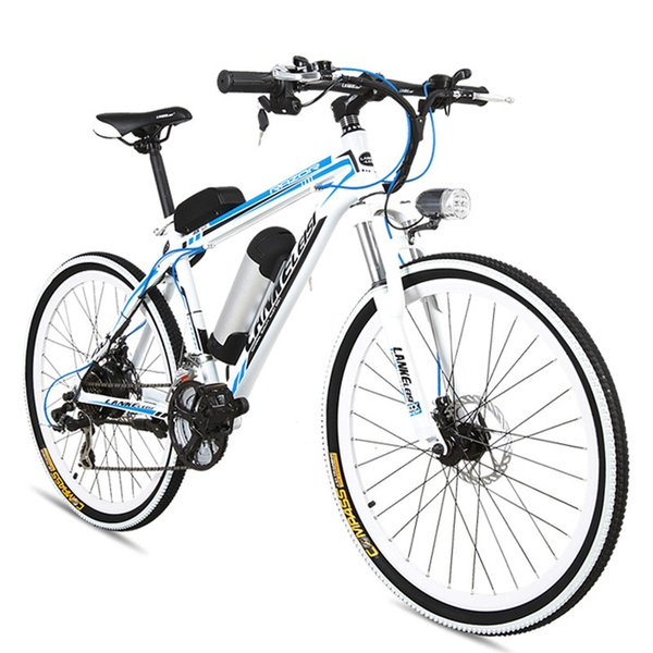 MX3.8 21 Speed, 26 inches*1.95, 36/48V, 240W, Aluminum Alloy Frame, Electric Bicycle, Mountain Bike, Strong Power.