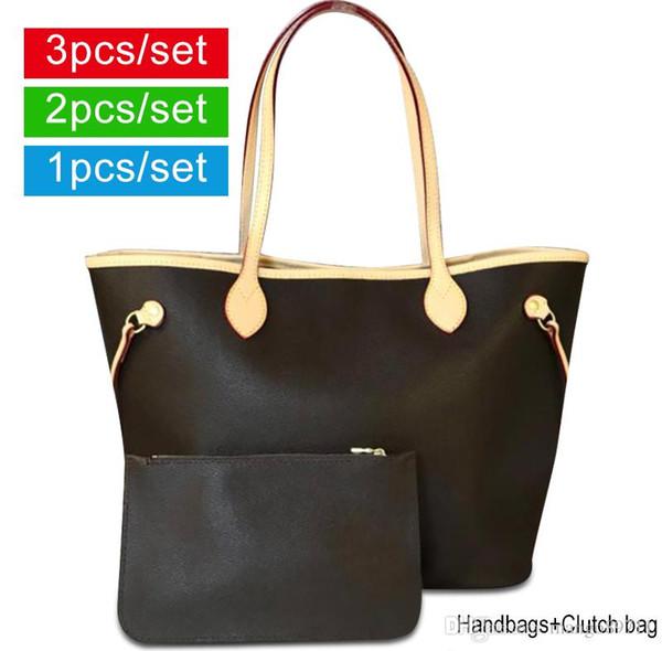 Kadın tasarımcı çanta Bayan Deri Çanta cüzdan Omuz Çantası Tote Debriyaj Kadın Çanta Çanta Tasarımcısı Ile Toz Torbası
