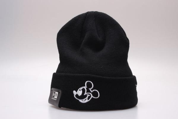 Mens Womens Warm Knitted Cartoon Beanies Casual High Quality Vogue Winter Hats Caps Skullies Beanies