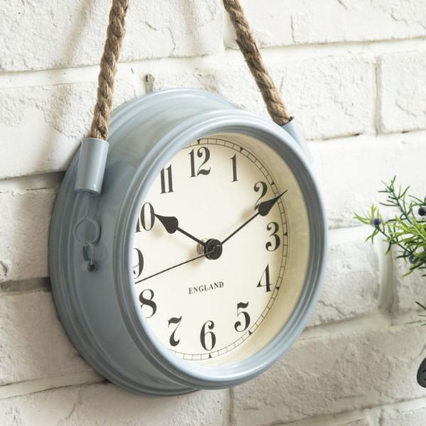 İskandinav Modern Minimalist Saatler Duvar Saati Oturma Odası Ferforje Metal Saatler Yaratıcı Kuvars Saat Kişilik