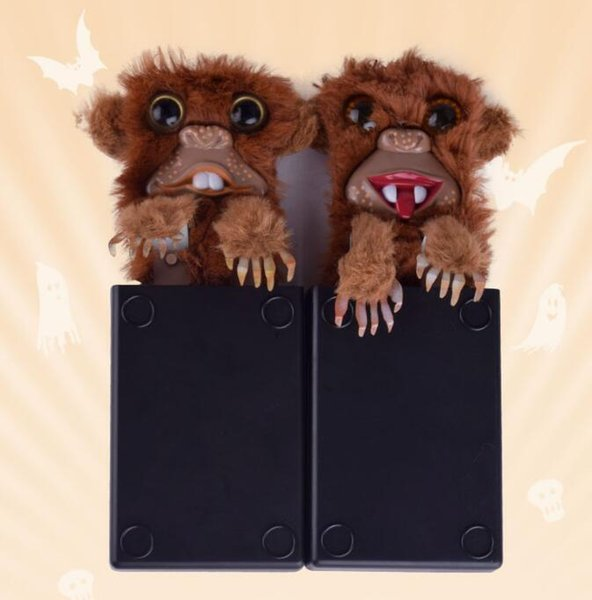 Sneekums Pet Pranksters Jitters Novelty Items Fur Plastic Brown Pet Fur Plastic Brown Pet Prankster Magic Tricks Prank Funny Toys Gift
