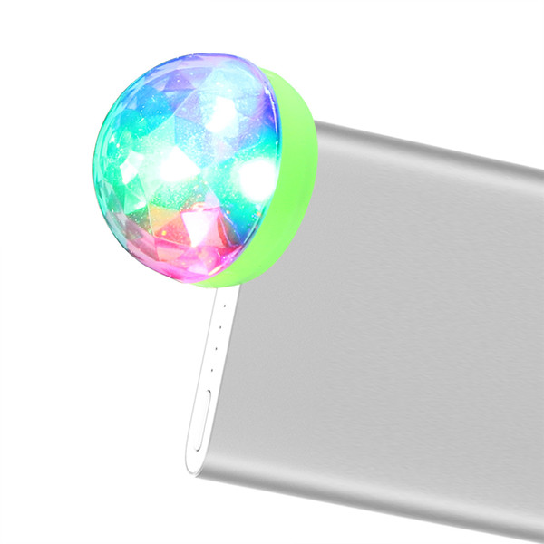 Mini Usb Colorful Neon Light Color Change Portable Stage Party Light Led Disco Dj Stage Interior Lamp Ornament Decoration