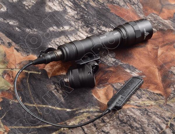 Tactical M600 Scout Light Outdoor Rifle Hunting Flashlight 500 lumen gun Light with picatinny rail mount base M2314