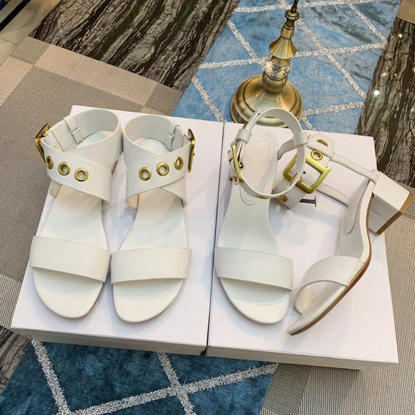 Kadın D toka Sandalet Roma Punk toka Yapmak R Kayışı Yeni Marka Kaliteli Bayanlar Sandalet