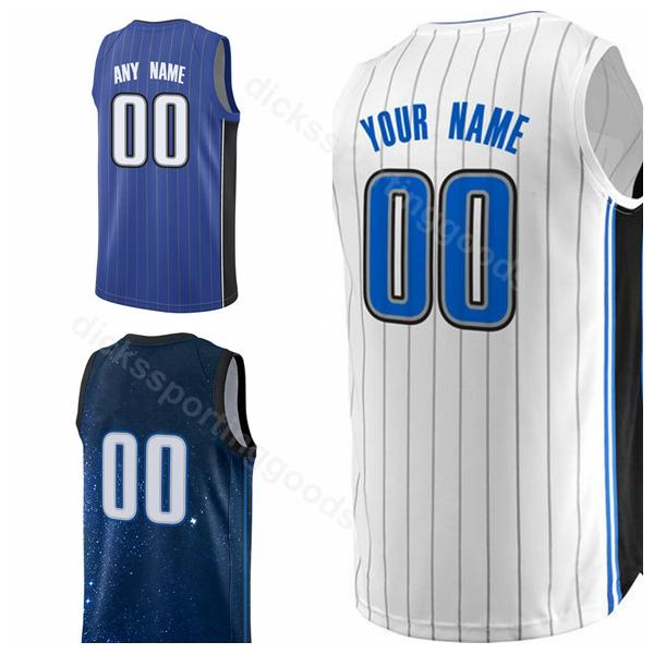 reputable site c2bba 8161e 2019 College Printed Basketball 00 Aaron Gordon Jersey Men 9 Nikola Vucevic  10 Evan Fournier 14 DJ Augustin 31 Terrence Ross Custom Name Number From ...