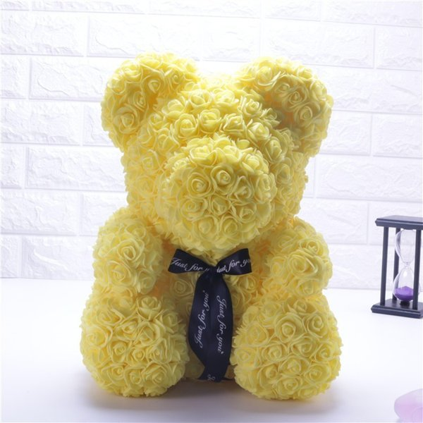 25cm yellow bear