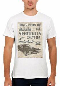 Supernatural Winchester Driver Bros Das Mulheres Dos Homens de Colete Regata Unisex T Shirt 1944
