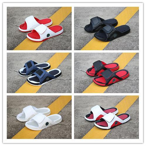 Concord 45 11 designer sandals Mens 13s slides HYDRO 2 Summer Flat Basketball Shoes White red black RETRO women Beach Slipper Flip Flop