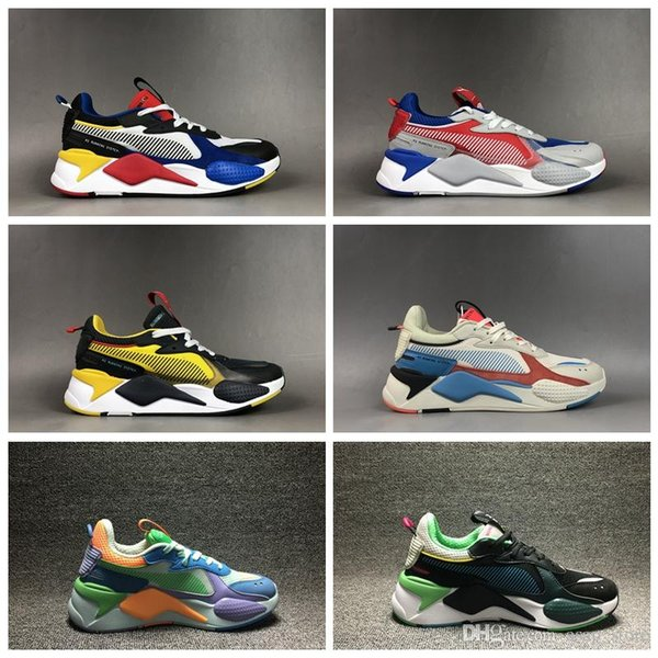 2019 New Creepers RS-X RS Reinvention Toys Mens Running Shoes Brand Designer Hasbro Transformers Trainers Womens rs x Sneakers