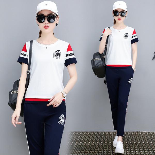 Modedesigner Frauen Trainingsanzug Frühling Herbst Aktive Frau Marke Sportbekleidung Trainingsanzüge Hochwertige Kleidung 2 Farben Asiatische Größe M-3XL
