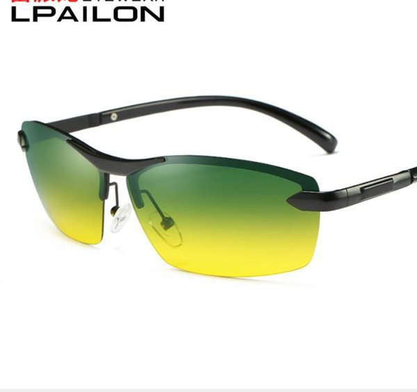 Day and night polarizing sunglasses for men driving special Sunglasses driver driving Sunglasses night vision glasses