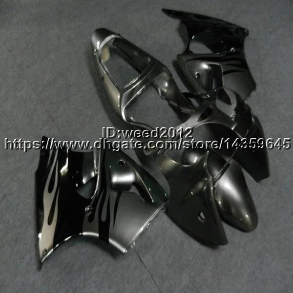 5Gifts + Custom inyección molde Silvergray carenados de motocicletas para Kawasaki Ninja ZX-6R 2000 2001 2002 ZX6R 636 ZZR600 05-08