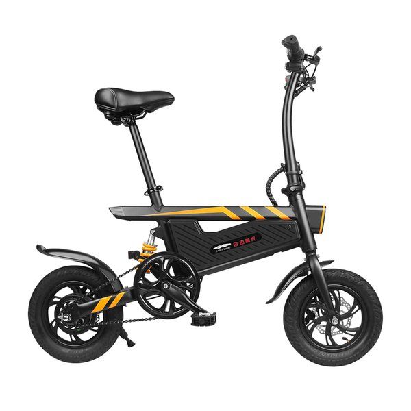 top popular Ziyoujiguang T18 Electric Bike Aluminum Alloy 250W Motor 36V 25Km h Max IP54 7.8AH Foldable Electric Bicycle Upgraded Version 2020
