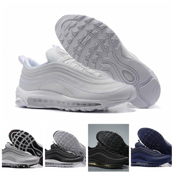 Compre Nike Air Max Original Venta Caliente Barato Hombres Mujeres Deportes Al Aire Libre Zapatos 97 OG NRG 97S SE Plus QS PRM Diseñador De Lujo