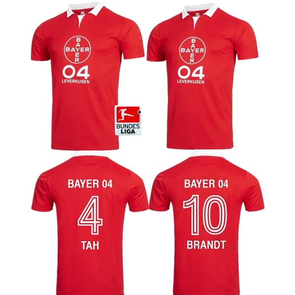 19 20 Bayer 04 Leverkusen Trikots 40 Jahre Sonderedition DEMIRRBAY rot BAILEY HAVERTZ VOLLAND BELLARABI Trikots Thailand