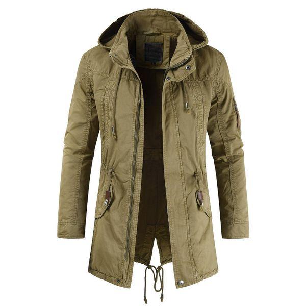 2019 ilkbahar sonbahar erkekler moda kapüşonlu ceket ceket erkekler rahat Butik kapüşonlu ceket ceket