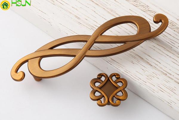 3.75'' Drawer Handles Antique Brass Kitchen Cabinet Pulls Door Handle Knobs Furniture Decorative Hardware