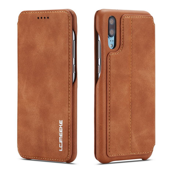 Flip Case For Huawei P20 P20 Lite Case Leather Luxury Wallet Business Vintage Book Design Cover For huawei P20 Pro Case Cover