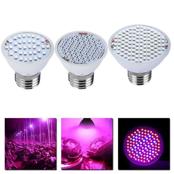 spectre complet de la lampe LED E27 AC85-265V du spectre complet de la lumière LED élèvent l'usine de lumière pour les plantes Vegs élèvent la boîte