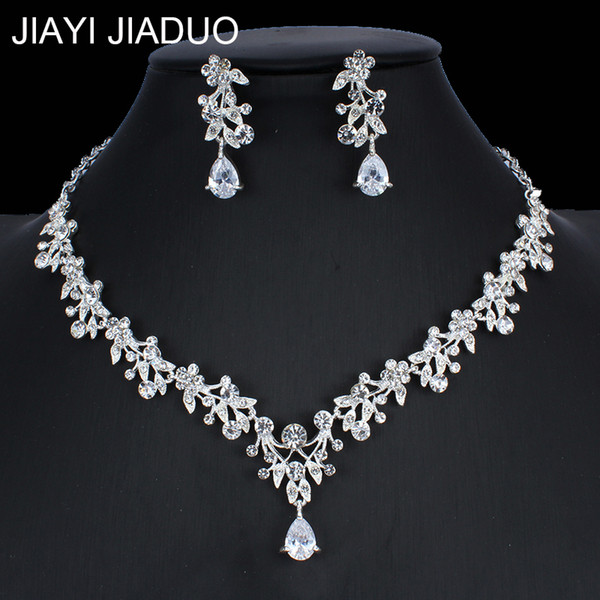 Wholesale earring s for sale - Group buy Cheap Bridal s jiayijiaduo Women s Bridal Set Wedding Jewelry Necklace Earring Set African Beads Jewelry Set