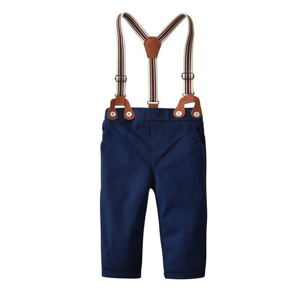 Children Cotton Bib Pants Casual Bib Pants Suit Boys Baby Boy Clothes Kids Trousers For Party