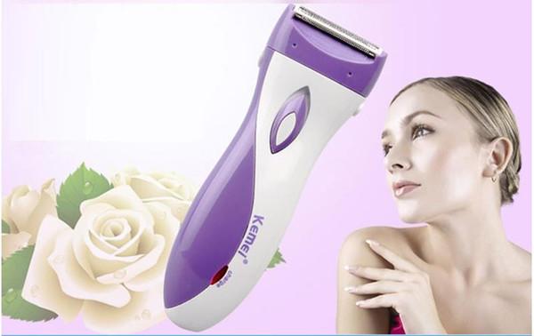 Épilateur féminin Rasoir rasoir rechargeable pour femmes Tout le corps Tondeuse Indolore Pour Tondeuse À Chatte Chatte Dames Sous Le Rasoir Rasoir Knif